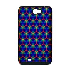 Honeycomb Fractal Art Samsung Galaxy Note 2 Hardshell Case (PC+Silicone)