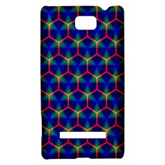 Honeycomb Fractal Art HTC 8S Hardshell Case