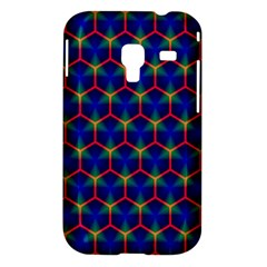 Honeycomb Fractal Art Samsung Galaxy Ace Plus S7500 Hardshell Case