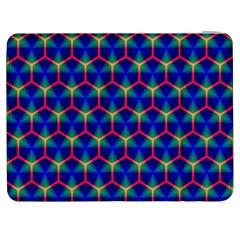 Honeycomb Fractal Art Samsung Galaxy Tab 7  P1000 Flip Case