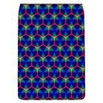 Honeycomb Fractal Art Flap Covers (L)  Front