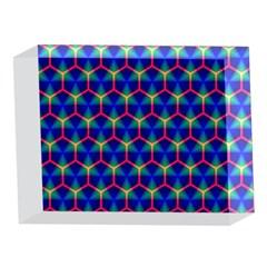 Honeycomb Fractal Art 5 x 7  Acrylic Photo Blocks
