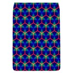 Honeycomb Fractal Art Flap Covers (S)  Front