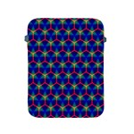 Honeycomb Fractal Art Apple iPad 2/3/4 Protective Soft Cases Front