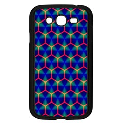Honeycomb Fractal Art Samsung Galaxy Grand DUOS I9082 Case (Black)