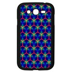 Honeycomb Fractal Art Samsung Galaxy Grand DUOS I9082 Case (Black) Front