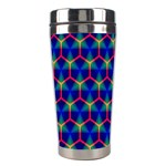 Honeycomb Fractal Art Stainless Steel Travel Tumblers Right