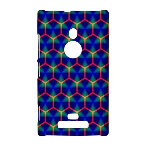 Honeycomb Fractal Art Nokia Lumia 925