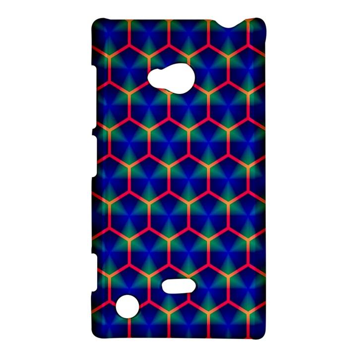Honeycomb Fractal Art Nokia Lumia 720