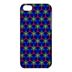 Honeycomb Fractal Art Apple iPhone 5C Hardshell Case