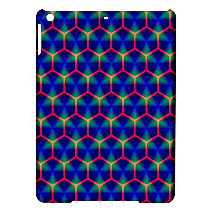 Honeycomb Fractal Art iPad Air Hardshell Cases