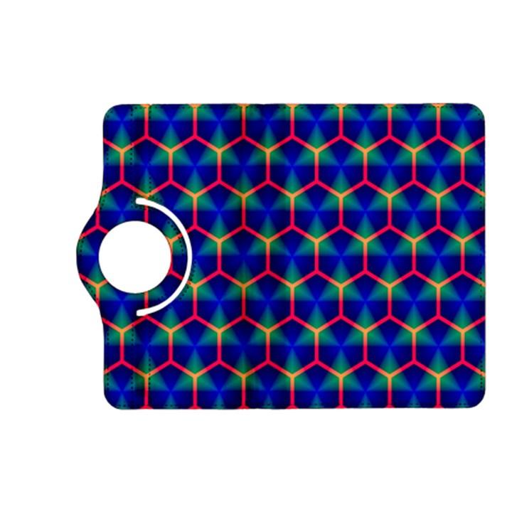 Honeycomb Fractal Art Kindle Fire HD (2013) Flip 360 Case