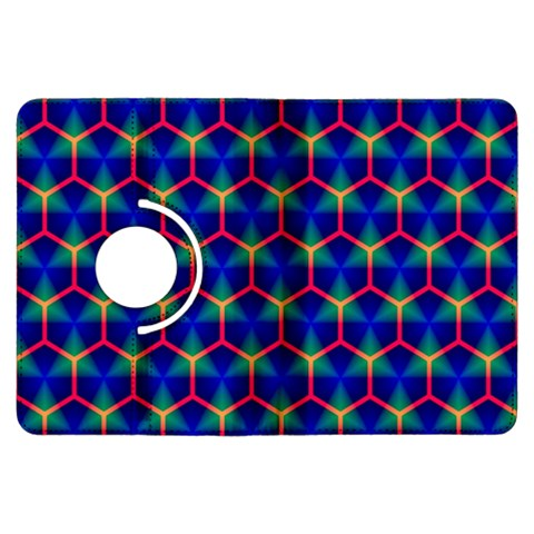 Honeycomb Fractal Art Kindle Fire HDX Flip 360 Case