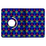 Honeycomb Fractal Art Kindle Fire HDX Flip 360 Case Front
