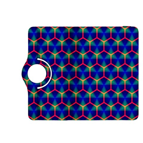 Honeycomb Fractal Art Kindle Fire HDX 8.9  Flip 360 Case