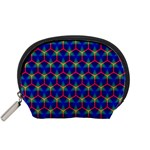 Honeycomb Fractal Art Accessory Pouches (Small)  Front