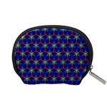 Honeycomb Fractal Art Accessory Pouches (Small)  Back