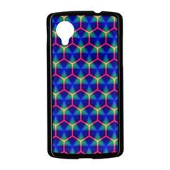 Honeycomb Fractal Art Nexus 5 Case (Black)