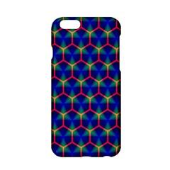 Honeycomb Fractal Art Apple iPhone 6/6S Hardshell Case