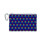 Honeycomb Fractal Art Canvas Cosmetic Bag (S) Front