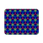 Honeycomb Fractal Art Double Sided Flano Blanket (Mini)  35 x27 Blanket Front