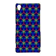 Honeycomb Fractal Art Sony Xperia Z3