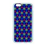 Honeycomb Fractal Art Apple Seamless iPhone 6/6S Case (Color) Front