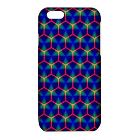 Honeycomb Fractal Art iPhone 6/6S TPU Case