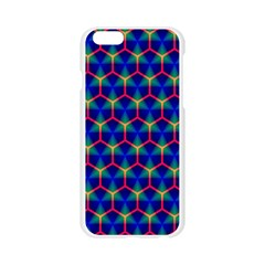 Honeycomb Fractal Art Apple Seamless iPhone 6/6S Case (Transparent)
