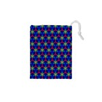 Honeycomb Fractal Art Drawstring Pouches (XS)  Front