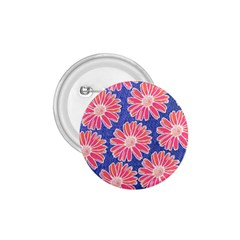 Pink Daisy Pattern 1 75  Buttons