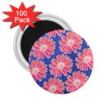 Pink Daisy Pattern 2.25  Magnets (100 pack)  Front
