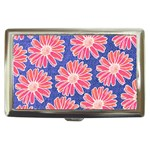 Pink Daisy Pattern Cigarette Money Cases Front