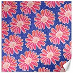 Pink Daisy Pattern Canvas 12  x 12   12 x12 Canvas - 1