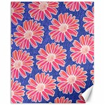 Pink Daisy Pattern Canvas 16  x 20   20 x16 Canvas - 1