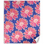 Pink Daisy Pattern Canvas 20  x 24   24 x20 Canvas - 1
