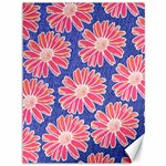 Pink Daisy Pattern Canvas 36  x 48   48 x36 Canvas - 1