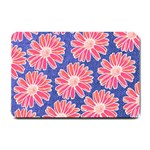 Pink Daisy Pattern Small Doormat  24 x16 Door Mat - 1