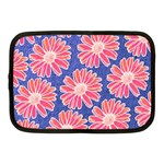 Pink Daisy Pattern Netbook Case (Medium)  Front