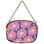 Pink Daisy Pattern Chain Purses (One Side)  Front