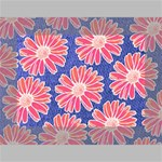 Pink Daisy Pattern Mini Canvas 7  x 5  7  x 5  x 0.875  Stretched Canvas