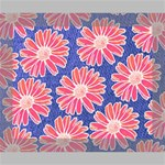 Pink Daisy Pattern Canvas 10  x 8  10  x 8  x 0.875  Stretched Canvas