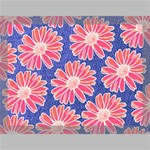 Pink Daisy Pattern Canvas 16  x 12  16  x 12  x 0.875  Stretched Canvas