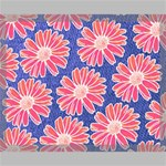 Pink Daisy Pattern Canvas 20  x 16  20  x 16  x 0.875  Stretched Canvas