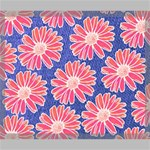 Pink Daisy Pattern Canvas 24  x 20  24  x 20  x 0.875  Stretched Canvas