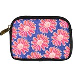 Pink Daisy Pattern Digital Camera Cases Front