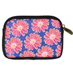 Pink Daisy Pattern Digital Camera Cases Back