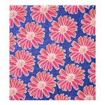 Pink Daisy Pattern Shower Curtain 66  x 72  (Large)  58.75 x64.8 Curtain