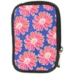 Pink Daisy Pattern Compact Camera Cases Front