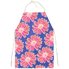 Pink Daisy Pattern Full Print Aprons
